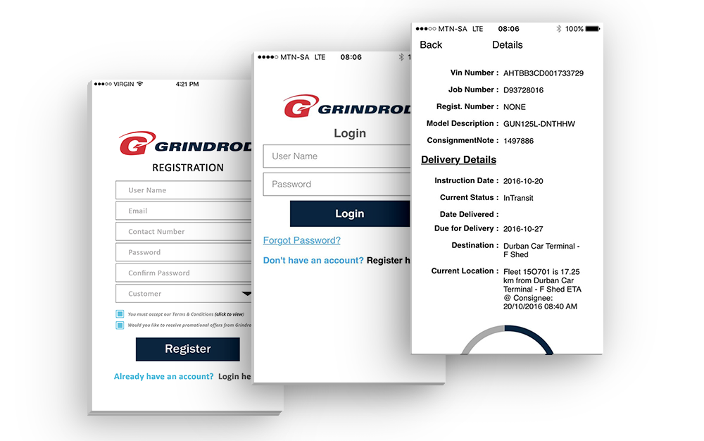 Grindrod Freight Tracking